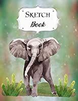 Sketch Book: Elephant   Sketchbook   Scetchpad for Drawing or Doodling   Notebook Pad for Creative Artists   #5
