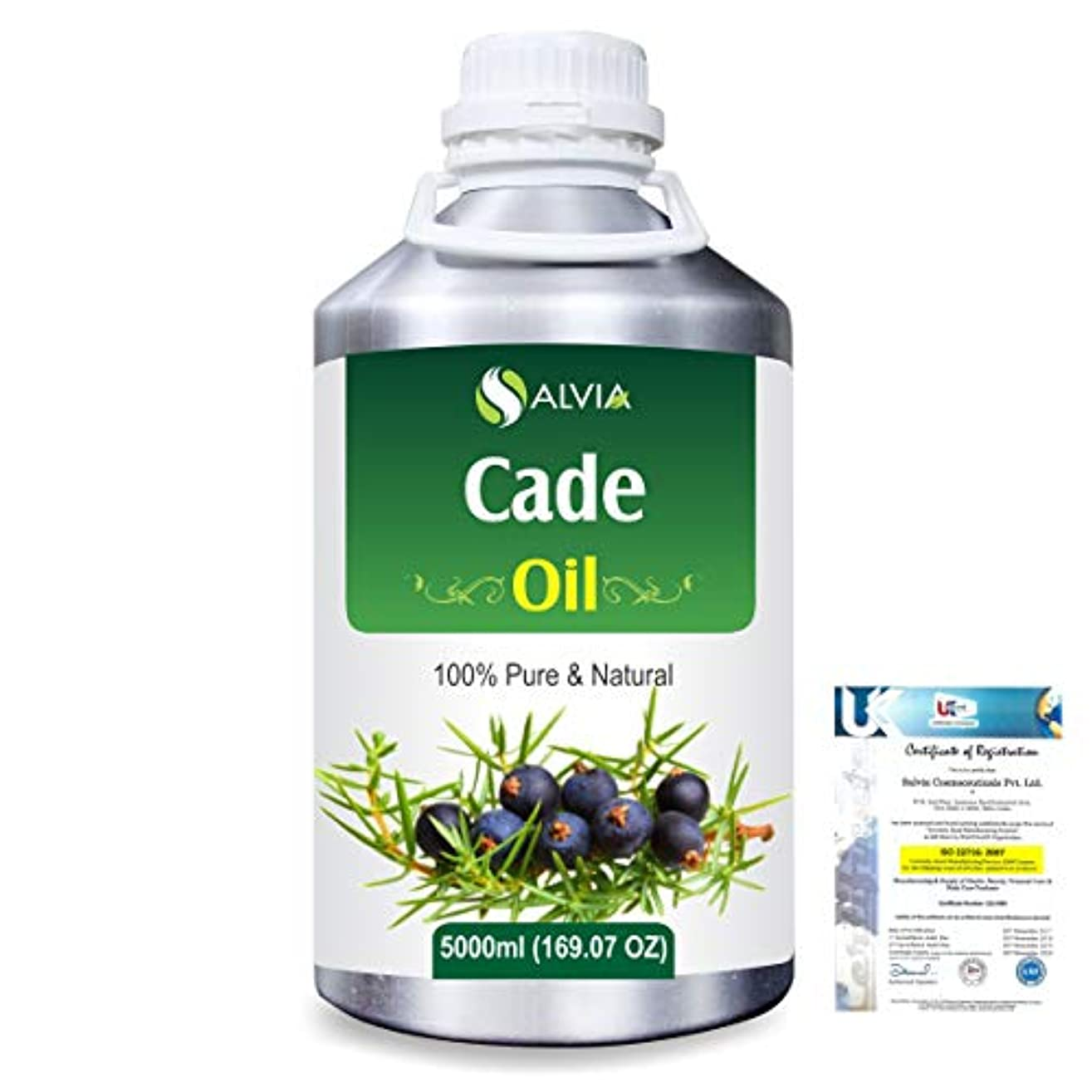 ワーディアンケース限りなく八Cade (Juniperus oxycedrus) 100% Natural Pure Essential Oil 5000ml/169fl.oz.