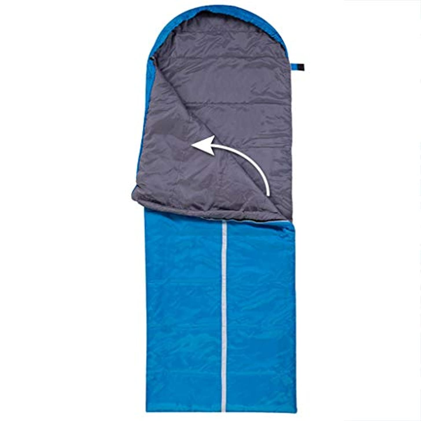 取り組む遠い名門屋外の寝袋シングルと寝袋キャンプ寝袋屋内と屋外のポータブルスプライシングのための寝袋 GBYGDQ (Color : C)
