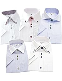BS-shirt(ビジネスマンサポートシャツ) 半袖ワイシャツ 5枚セット メンズ 形態安定