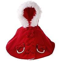Dovewill 1/3 BJD SD DOD LUTSドルフィー対応 かわいい 素敵 ドールの服 クローク  ドレス 帽子付属