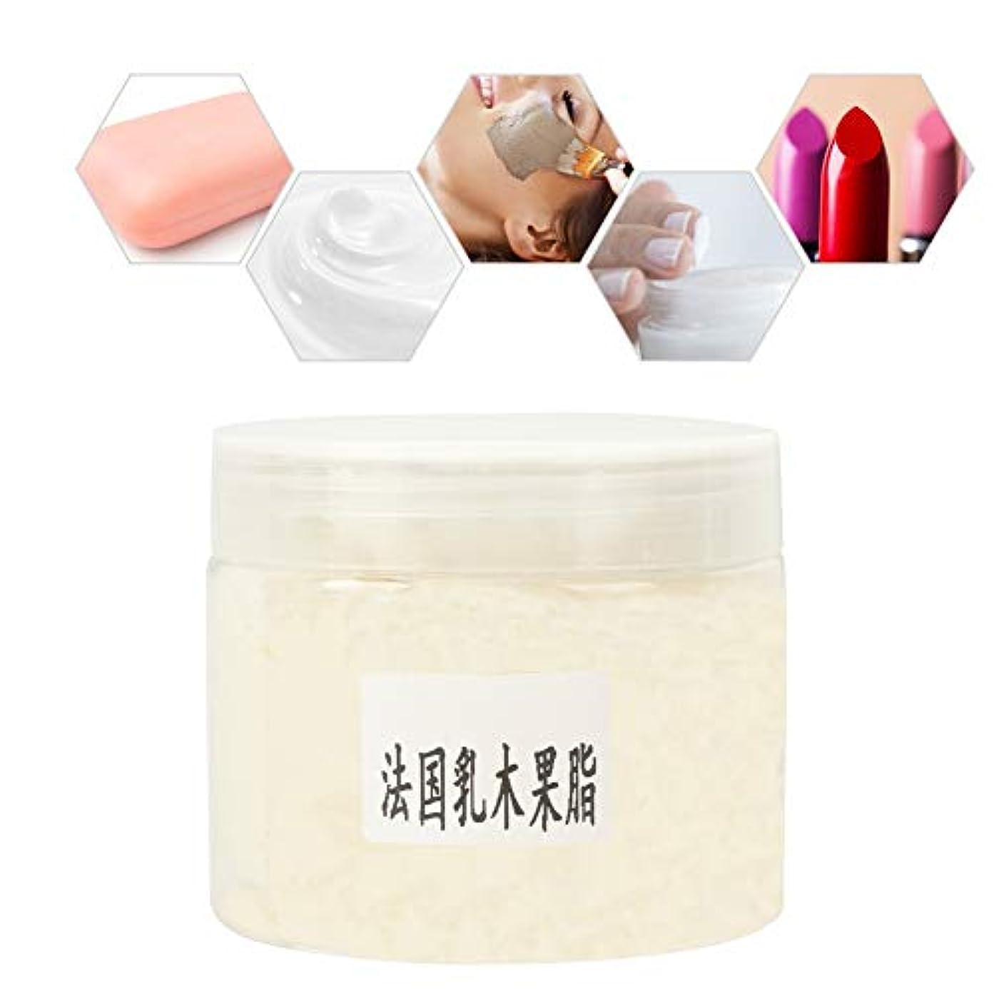 シアバター 精製 オーガニック 100g 手作り化粧品原料 化粧品DIY素材高級洗練されたピュアナチュラルシアバター