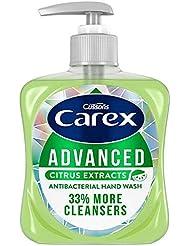 [Carex ] スゲ属の事前クリーンシトラスのハンドウォッシュ250ミリリットル - Carex Advance Clean Citrus Hand Wash 250Ml [並行輸入品]