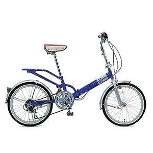 Raychell(レイチェル) 6段変速折り畳み自転車 20インチ VO206 ブルー 20インチ VO-206 BL