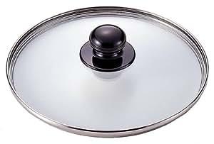 ワンダーシェフ 【魔法のクイック料理 圧力鍋 5.5L・3.7L用】 強化ガラス蓋 22cm 600585