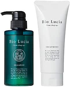 チャップアップ(CHAPUP) Bio Lucia ビオルチア シャンプー 300mL &トリートメント 200g ノンシリコン アミノ酸 オーガニック 頭皮ケア オーガニックシャンプー