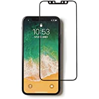 【ROOT CO.】[iPhone X専用]GRAVITY 液晶画面保護ガラスフィルム Tempered Glass Film (ブラック)