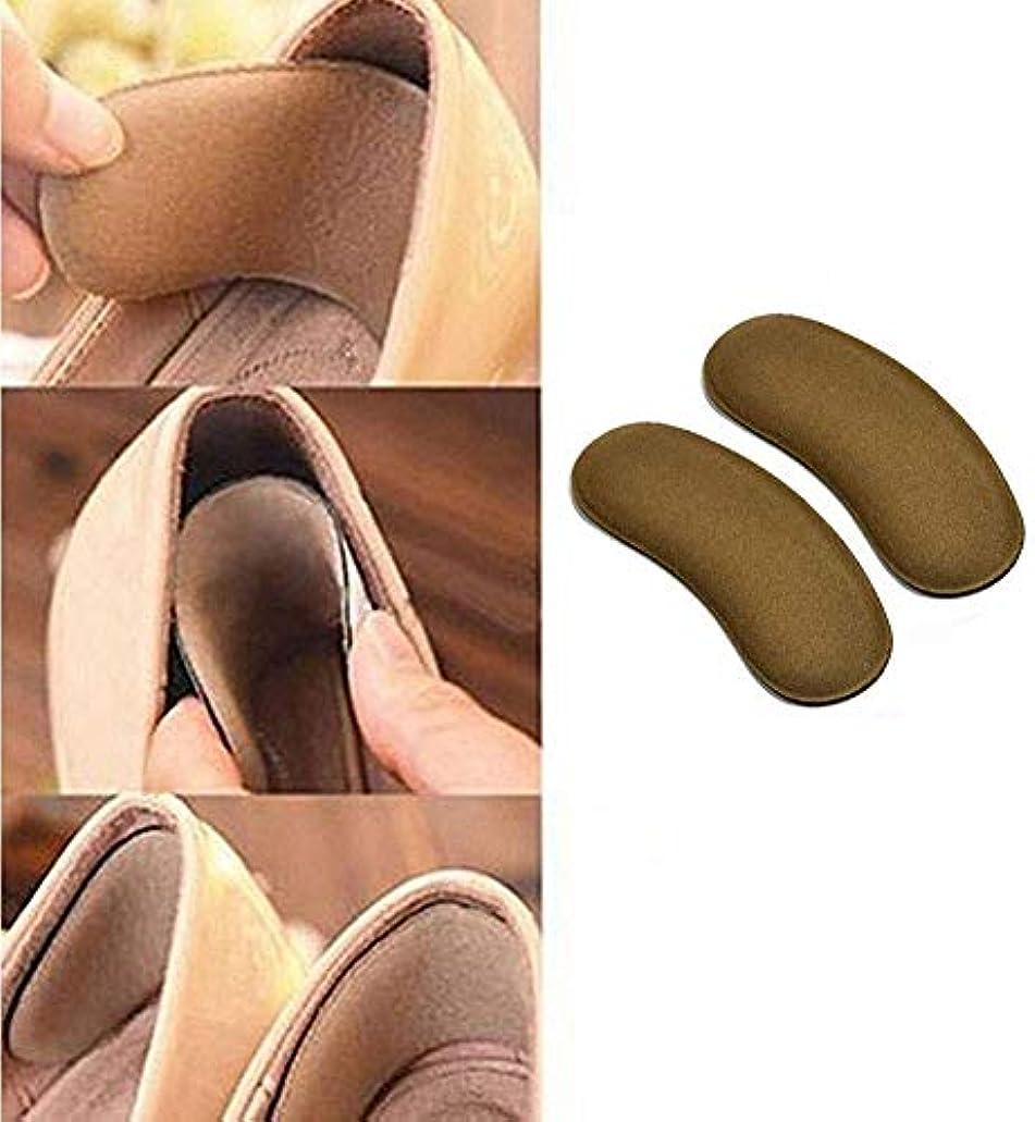 想起デッキ乳白ヒールパッド付きパッドライニング、高いヒールパッドのライニングの靴のライニング緩い靴、改善された靴のフィット感と快適さのために、水ぶくれが大きすぎる、ユーチューブーチューブニセックス防止の5組