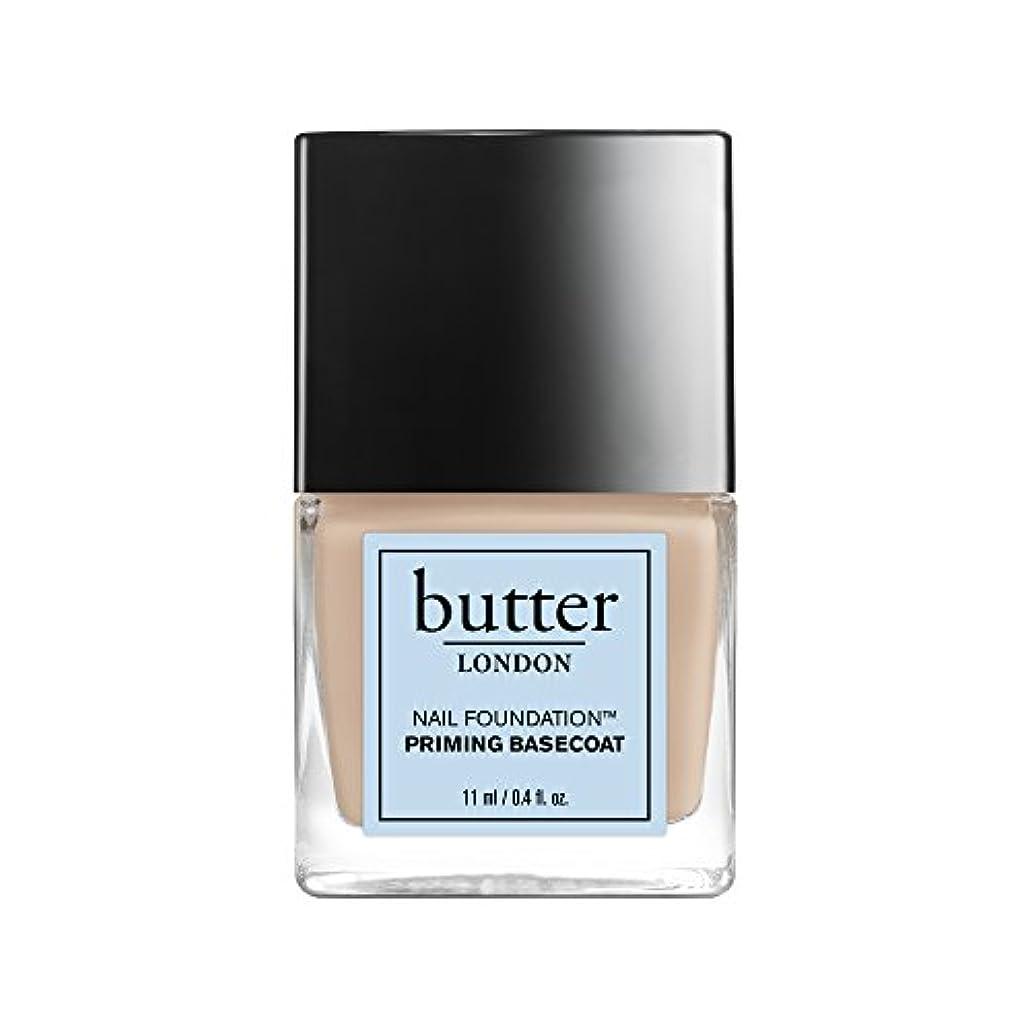 三辞任する甲虫Butter London Nail Foundation - Priming Basecoat 0.4oz (11ml)