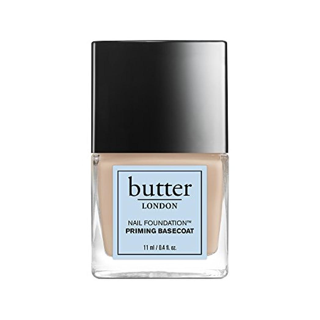 結晶とポータブルButter London Nail Foundation - Priming Basecoat 0.4oz (11ml)
