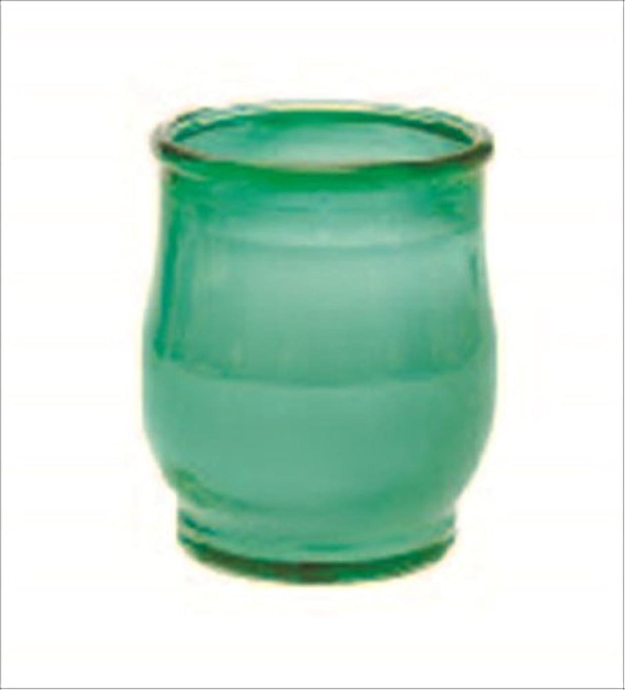 令状溶岩トロピカルカメヤマキャンドル(kameyama candle) ポシェ 「 グリーン 」