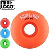MINI-LOGO ウィール ミニロゴ スケートボード 52mm オレンジ [並行輸入品]