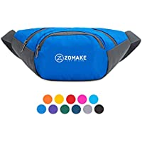 Fanny Pack Water Resistant Waist Bag,Lagre Capacity with Adjustable Strarp for Men and Women Fanny Pack Running Pouch Pack for Outdoors Workout Traveling Casual Running Hiking