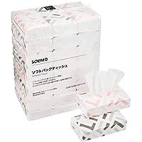 [Amazonブランド] SOLIMO ソフトパックティッシュ 320枚160組 x 24パック入
