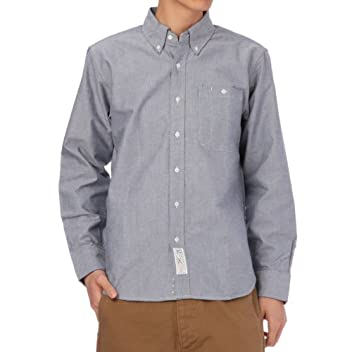 Selvage Oxford Buttondown Shirt 387-84102: Navy