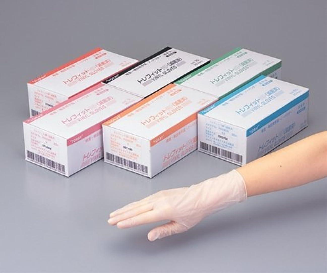 大きなスケールで見るとタンパク質一過性東レ トレフィットNP手袋 PG5050N 20双入  /8-7310-11