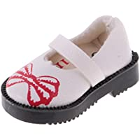 Perfk 12 インチ ブライスドール対応 人形 可愛い 靴 最愛 人形 アクセサリー 全3色選ぶ - 白色