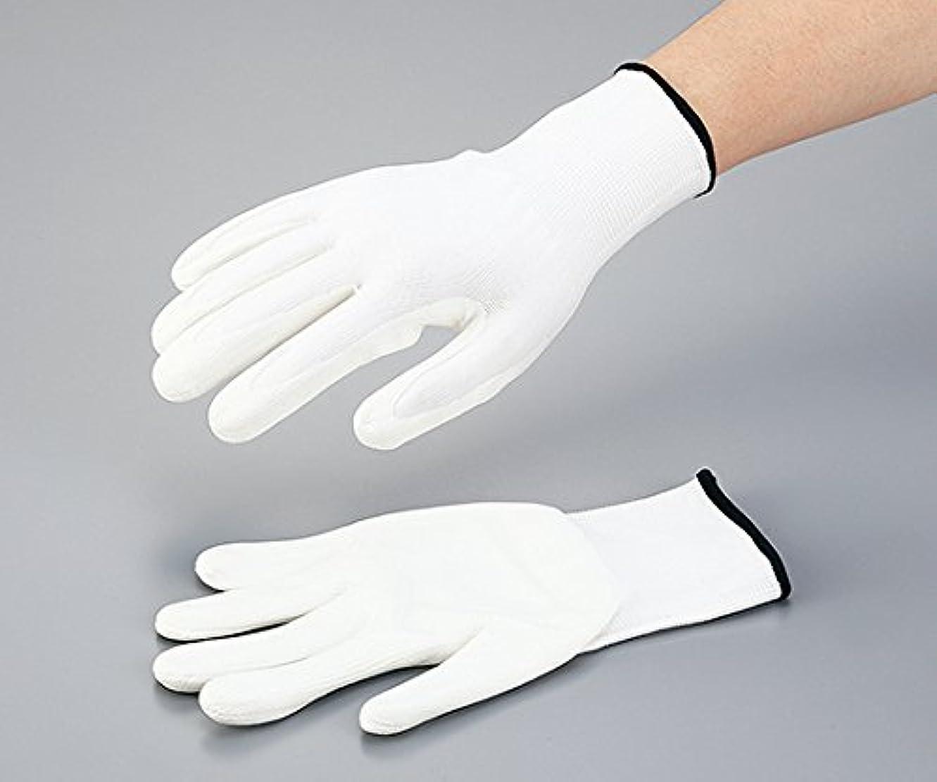 あたたかい土器大使アズワン3-6428-01水溶性PUコート耐切創手袋(カットクラス3)XL