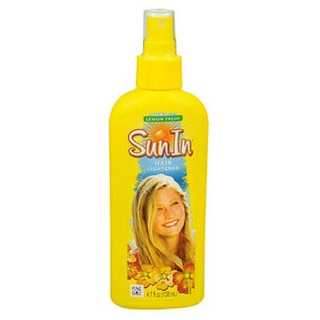 ボイラー拘束望ましい海外直送品Sun-In Sun-In Hair Lightener Spray Lemon Fresh, Lemon Fresh 4.7 oz