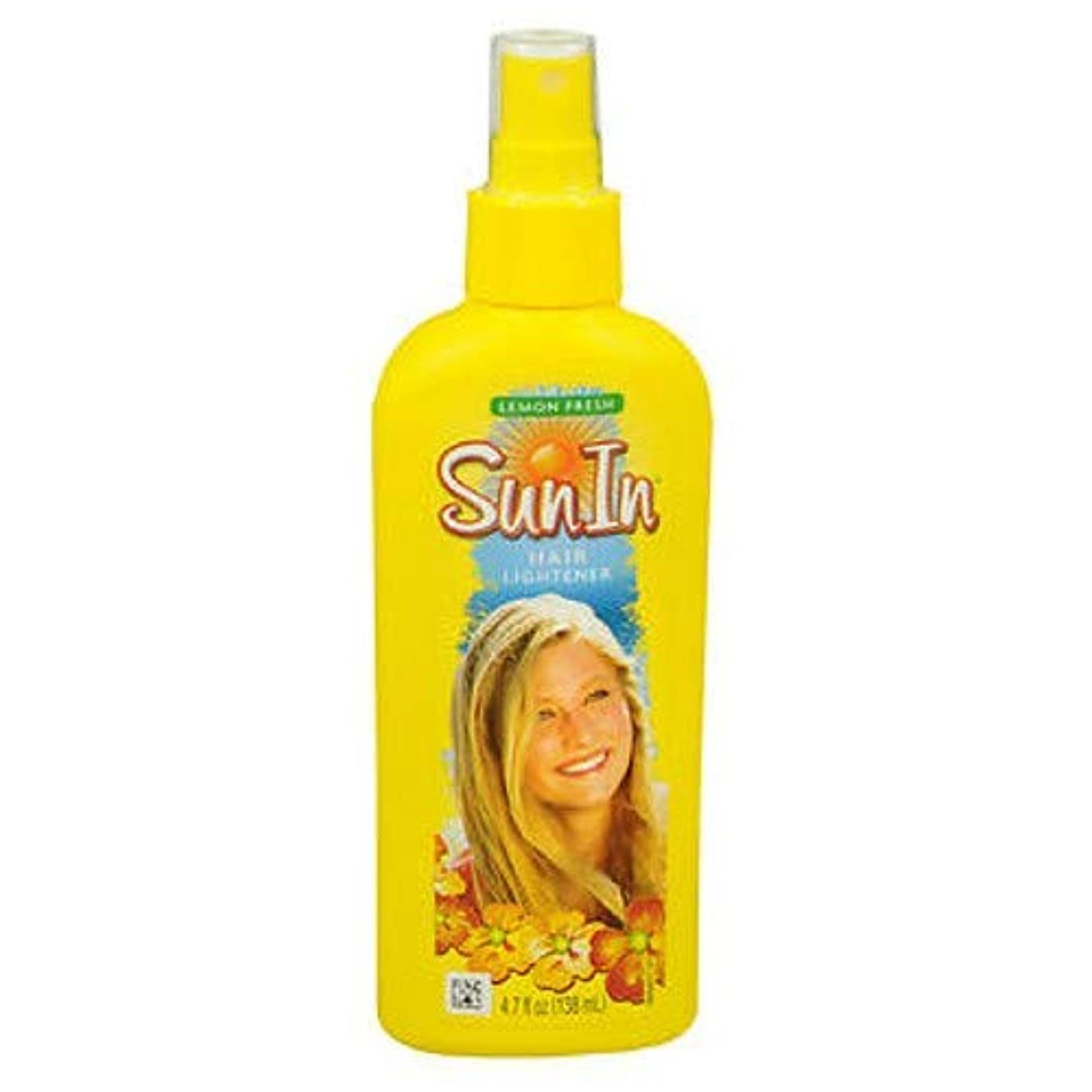 海外直送品Sun-In Sun-In Hair Lightener Spray Lemon Fresh, Lemon Fresh 4.7 oz