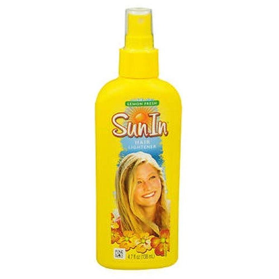 アヒルブーム元気海外直送品Sun-In Sun-In Hair Lightener Spray Lemon Fresh, Lemon Fresh 4.7 oz