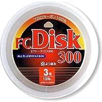 よつあみ(YGK) ライン FC Disk(ディスク) 300m 12lb(3号)