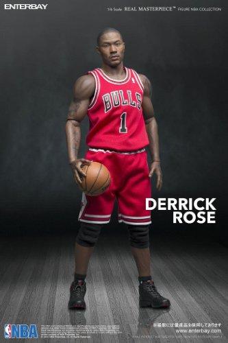 リアルマスターピース コレクティブル フィギュア/ NBAコレクション:デリック・ローズ