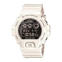 Casio G Shock Japanese Quartz Watch with Resin Strap, White, 16 (Model: DW6900NB-7)