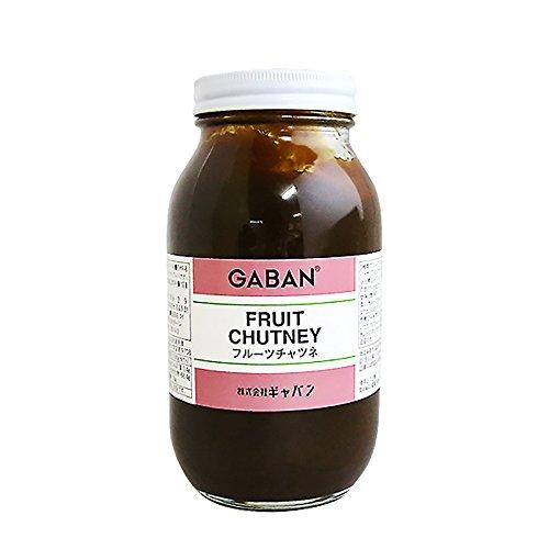 【 業務用 】 GABAN (ギャバン) Fruit Chutney (フルーツチャツネ) 1kg [並行輸入品]