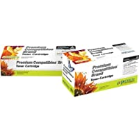 Premium Compatibles Inc. CB402ARPC Replacement Ink and Toner Cartridge for Hewlett Packard Printers, Yellow [並行輸入品]