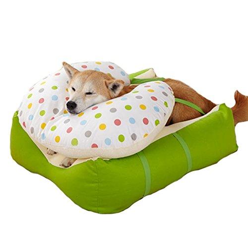介助 シニア 老犬 老齢犬 快眠 床ずれ 防止 クッション 体圧分散 ペット 日本産 王様のらくすや 中型犬用 幅45*奥行60*高さ33cm 犬 介護 ベッド 国産