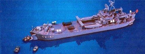 ピットロード 1/700 輸送艦 みうら J15