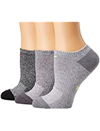 [NIKE(ナイキ)] レディースソックス?靴下 Performance Cushioned No Show Training Socks 3-Pair Pack Multicolor SM (Women's Shoe...