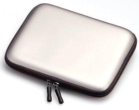 エレコム 電子辞書ケース セミハードタイプ イヤホン/タッチペン収納ポケット付 グレー DJC-006GY