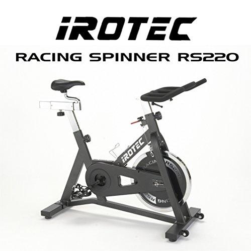 IROTEC(アイロテック)レーシングスピナー RS220 フライホイール22KG スピンバイク・インドアバイク・エアロバイク・トレッドミル・ルームランナー・フィットネスバイク・インドアサイクル