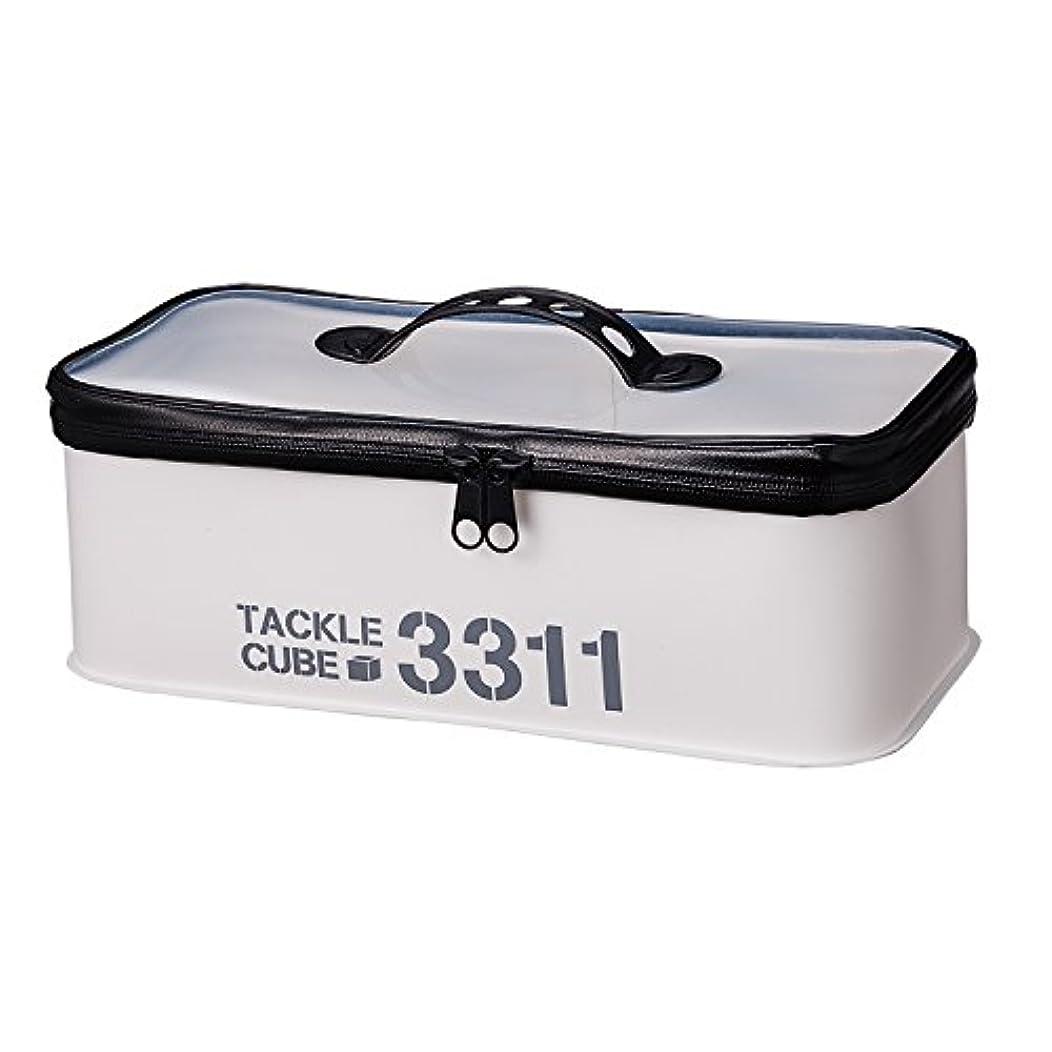 不利将来の蜜第一精工 TACKLE CUBE(タックルキューブ)3311 シロ