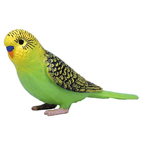 プラッツ My Little Zoo セキセイインコ (緑) 全長約75mm 彩色済み動物フィギュア MJP387262