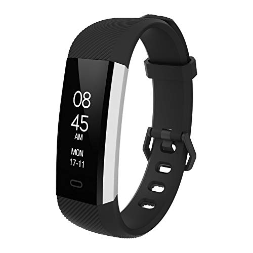 5562811c91 スマートウォッチ 万歩計 活動量計 心拍計 歩数計 fitpolo 腕時計 スマートブレスレット
