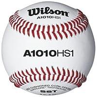 a1010b hs1-sstスーパーSeamテクノロジーNFHS Baseballsからウィルソン – ケースof 10ダース
