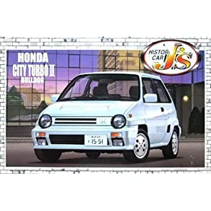 青島文化教材社 1/24 J'sヒストリックカーシリーズ No4 シティーターボIIブルドッグ