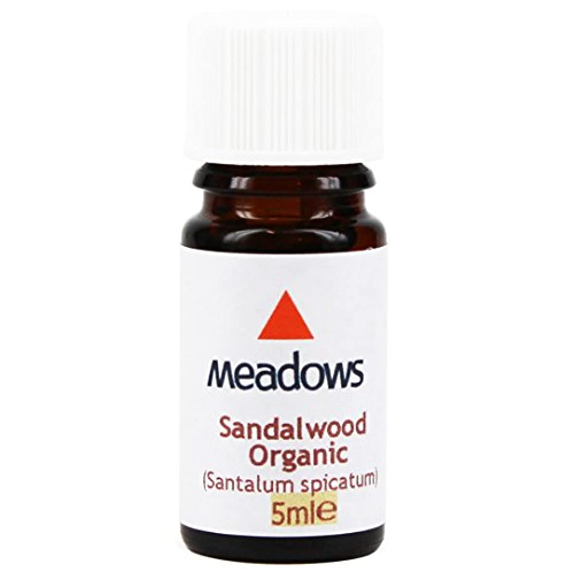 立場そばに高度なメドウズ エッセンシャルオイル サンダルウッド 5ml