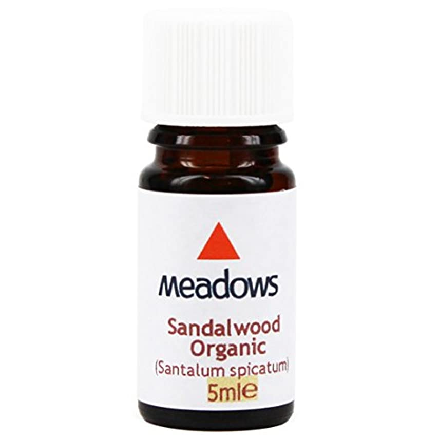 鎮静剤エンディング慎重メドウズ エッセンシャルオイル サンダルウッド 5ml