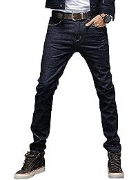 (ゆうや)YoYeah メンズジーンズ 美脚 スーパーストレッチ スリム 紳士 スキニー デニムパンツ ジーンズ ヴィンテージ加工 春夏