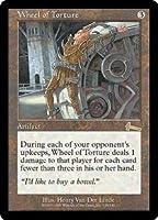 英語版 ウルザズ・レガシー Urza's Legacy ULG 拷問の車輪 Wheel of Torture マジック・ザ・ギャザリング mtg