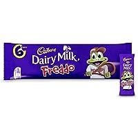 キャドバリー・デイリーミルクのFreddo 6×18グラム - Cadbury Dairy Milk Freddo 6 x 18g [並行輸入品]