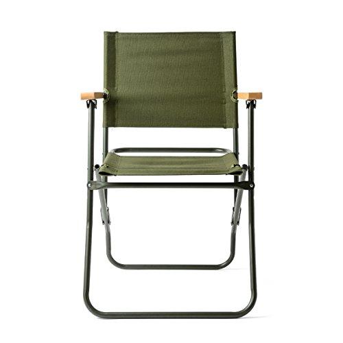 イギリス軍タイプ フォールディングチェア(ローバーチェア) 椅子 ミリタリー アウトドア インテリア nogj92116101 (OD)