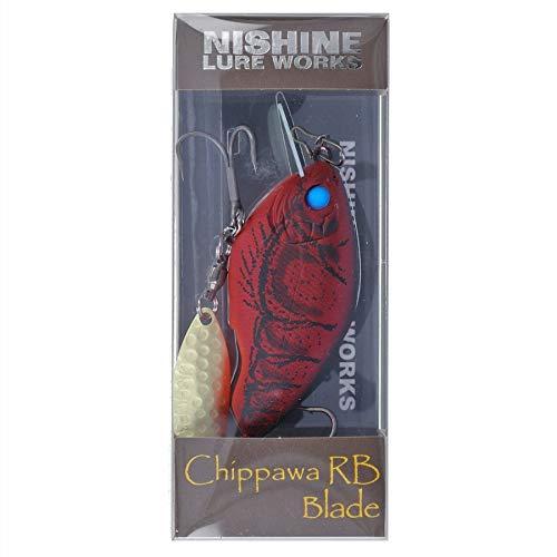 ニシネルアーワークス チッパワ RB ブレード NishineLureWorks Chippawa 8 Swamp Craw Fish 62mm