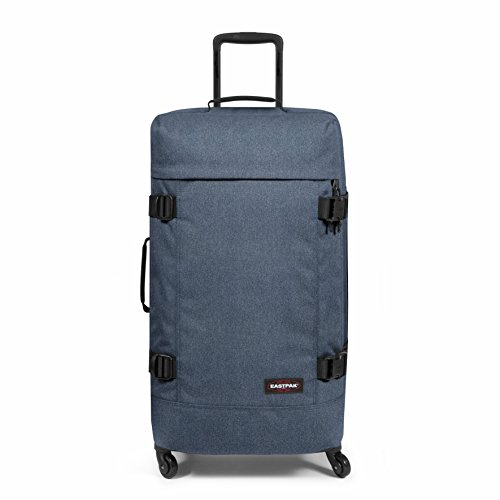 EASTPAK TRANS4 WHEELED HOLDALL LARGE (DOUBLE DENIM)