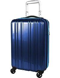 スーツケース 超軽量 1.9kg 機内持込 小型 LCC コインロッカー 静かなキャスター TSAロック ポリカボネート 1〜3泊 32L Sサイズ SiiiN+Light シーンプラスライト
