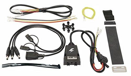 SYGN HOUSE(サインハウス) バイク用電源供給 パワーシステム 5V6A パワーケーブルキット2 【USB type-C/micro USB/USBメス】 00080057
